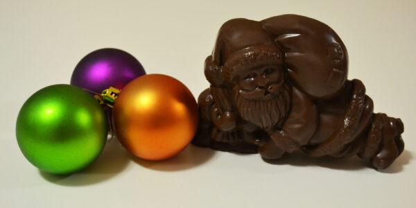 Babbo Natale di cioccolato