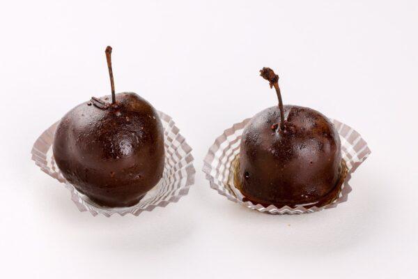 Ciliegie al kirsch al cioccolato - pasticceria fresca - focacceria pasticceria forno di cara - genova pegli