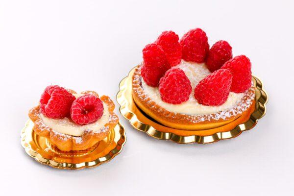 tortina al cioccolato bianco e lamponi - tortina al cioccolato bianco e lamponi con marmellata - pasticceria fresca - focacceria pasticceria forno di cara - genova pegli