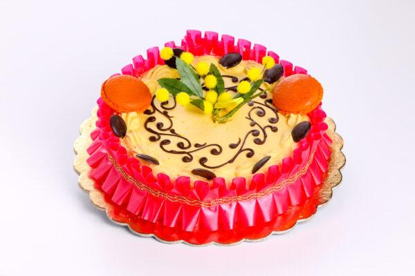 torta mimosa - torte - focacceria pasticceria di cara - genova pegli