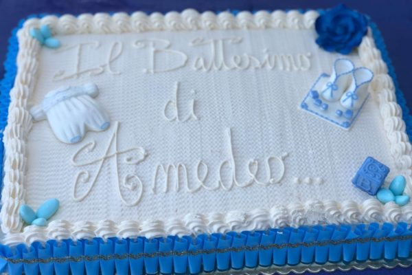 torta battesimo Amedeo